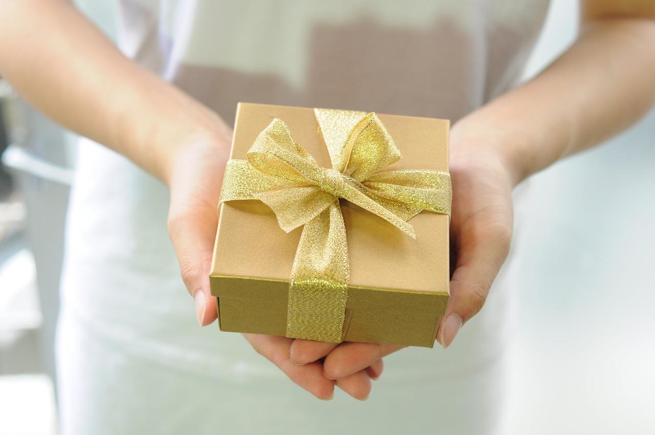 プレゼントは渡し方が大切
